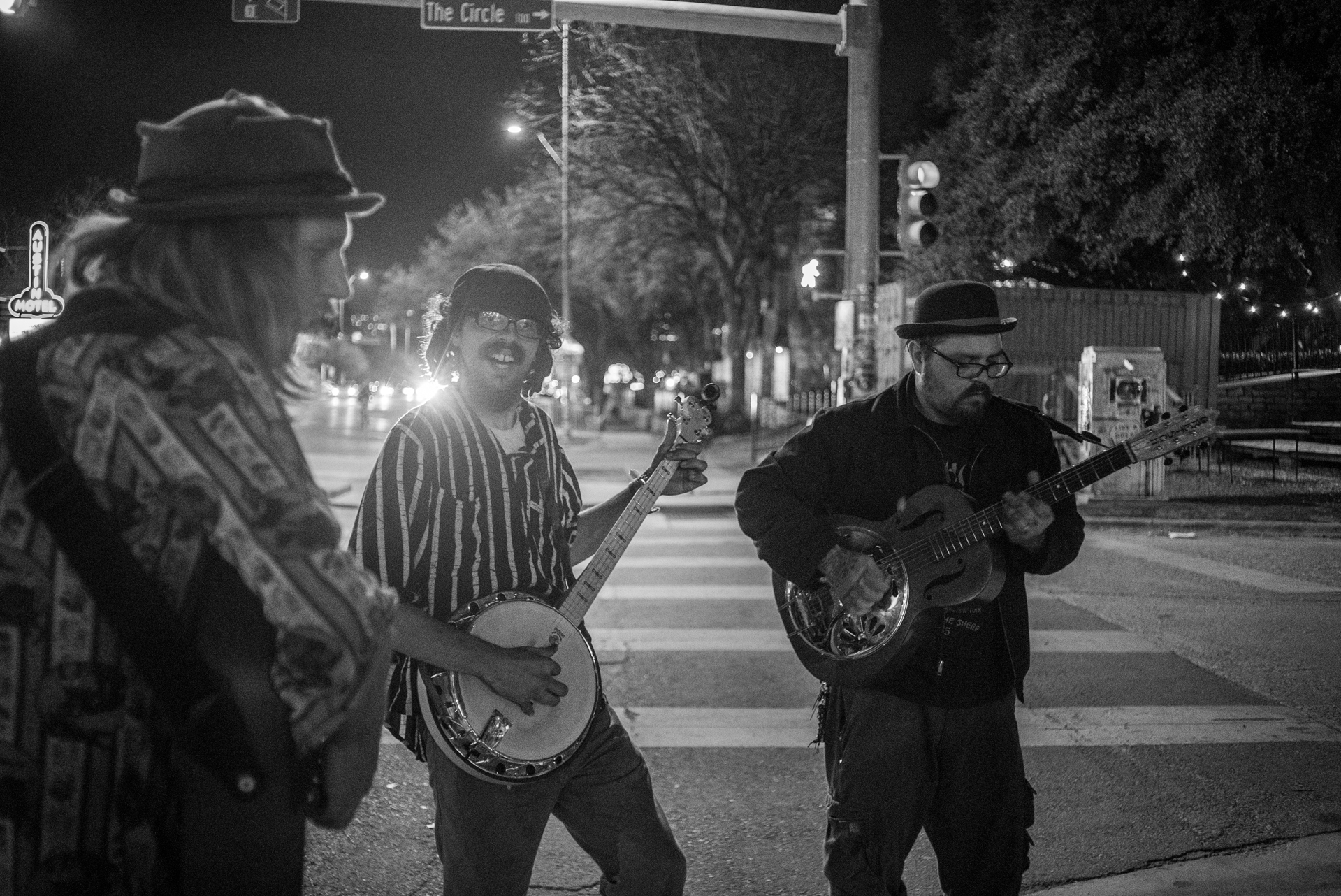 Street Musicians from Austin Texas - Photo: Stephan Wetaas